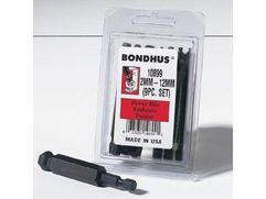 Bondhus gömbvégű hatszögbit/imbuszbit 1/4''-es befogással 25 és 76 mm-es hosszúságban