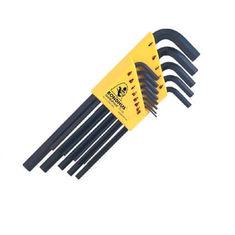 0,050-3/8 inch L-imbuszkulcs készlet hosszú egyenesvégű HLX13 - Bondhus - 12137