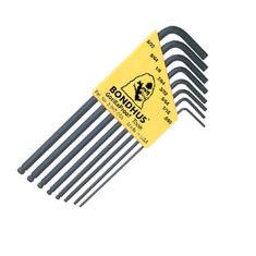 0,050-5/32 inch L-imbuszkulcs készlet hosszú gömbvégű BLX8 - Bondhus - 10932