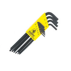 1/16-1/4 inch L-imbuszkulcs készlet hosszú egyenesvégű HLX10 - Bondhus - 12138