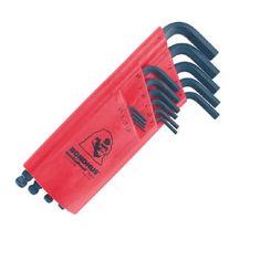 1,27-10mm L-imbuszkulcs készlet hosszú gömbvégű BLX15M - Bondhus - 10995