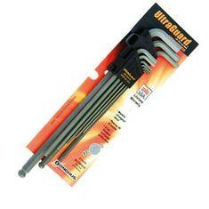 1,5-10 mm L-imbuszkulcs készlet XXL hosszú gömbvégű BLX9MXXL - Bondhus - 57499