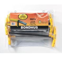 5/32-3/8 inch T-imbuszkulcs gömbvégű készlet BTX60 - Bondhus - 13146