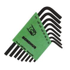 T6-T25 Torx L-kulcs készlet rövid egyenesvégű TLXS8S - Bondhus - 31732