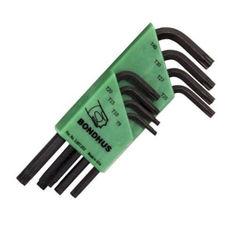 T9-T40 Torx L-kulcs készlet rövid egyenesvégű TLXS8 - Bondhus - 31734