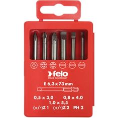 Lapos-PH-Z+/- Profi Bit Box készlet E 6,3x73mm - Felo - 03192716