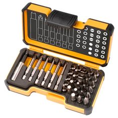 AKCIÓ!!! Bit 35 StrongBox Lapos-PZ-PH-Torx-Imbusz bit készlet - Felo - 02073516