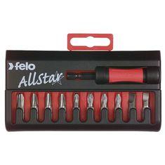 Lapos-PZ-PH AllStar bit készlet C 6,3x25 mm - Felo - 02090116