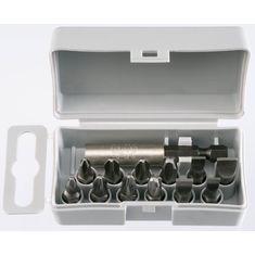 Lapos-PZ-PH Profi Bit Box készlet C 6,3x25 mm - Felo - 02091016