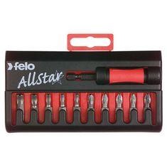 PZ-Torx AllStar bit készlet C 6,3x25 mm - Felo - 02090216