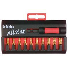 Torx AllStar bit készlet TiN/Titán bevonattal C 6,3x25 mm - Felo - 02690176