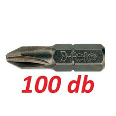 PH2x25mm Phillips PH bit / bithegy C 6,3 1/4 (100db) - Felo - 02202017