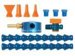 1/4 mágnestalpas folyadékelosztó készlet (11 részes) - Loc-Line - 40463