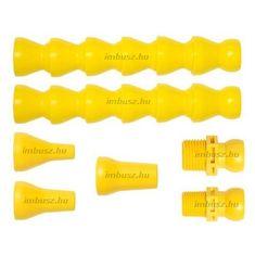 1/2 saválló egyszerű összeszerelhető hűtőcső készlet (7 részes) - Loc-Line - 56863