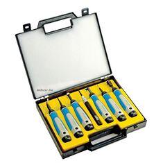 A készlet (7 részes sorjázó szerszám készlet műanyag táskában) - Noga - SP7700