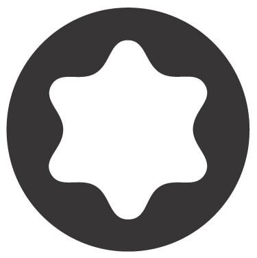 Torx profil