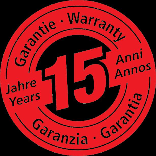 15 év garancia!