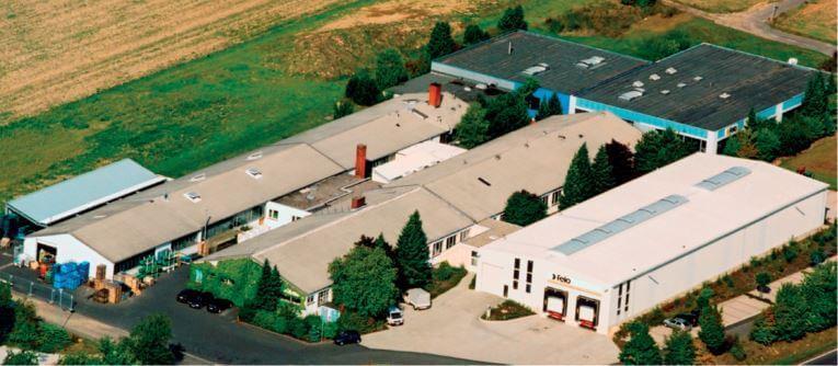 A FELO gyár jelenlegi helyén Neustadtban Németországban