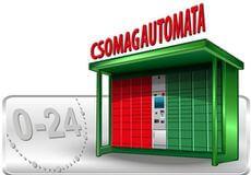 Csomagautomata - Gyors, diszkrét, 0-24 órás átvétel, Bankkártyás fizetés!